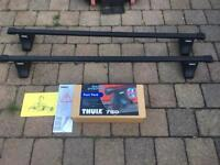 Ford Focus 1998-2004 fiesta mk6 aswell Thule roof bars rapid system