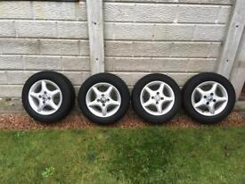4 Genuine VW alloy wheels
