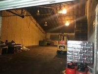 Light industrial warehouse unit to let