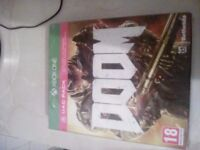 Brand new Doom x box one game