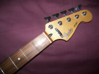 Fender Precision Bass , P-Bass 5-String Neck + Tuners , Mexico , Mexican , MIM.