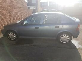 2001 Vauxhall Astra 1.4 LS ** spares or repair**