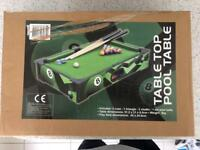 Childs pool table
