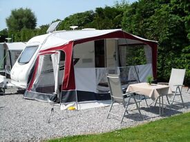 Bradcot Sport Caravan Awning - Excellent condition with accessories