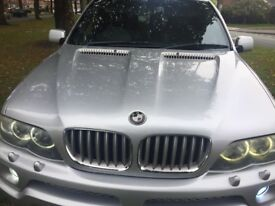 BMW X5 30d msports ACSCNITSER KITTED twin exhausts deep dish alloys leather wide screen range 530