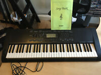 Casio Electronic Keyboard CTK-3000 (USB cable and stand included)