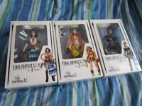 Final Fantasy X-2 Play Arts Original Figures Yuna, Rikku & Paine - BRAND NEW - EXTREMELY RARE