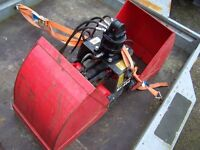 Clam Shell hydraulic grab to fit 7.5 tonner Kinshofer KM604