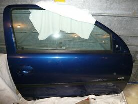 Vauxhall Corsa Car door