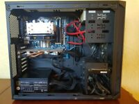 Gaming PC & 1080p Monitor /FX8320 8 Core 3.5GHZ/AMD Radeon 7870 2GB/8GB Kingston Ram