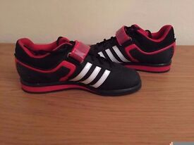 Adidas Powerlift 2 Shoes - Size 6 - Nearly New