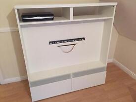 White tv unit cabinet