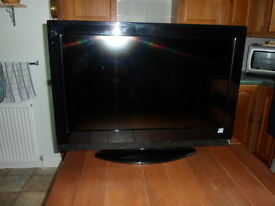 "Hitachi 32"" HD Ready Television."