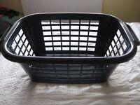Large Navy Blue Landry Basket £4- SG5 Area