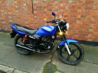 2012 sinnis 125cc 12 months mot 2x keys ready to ride