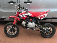 110 cc stomp pit bike WPB