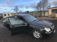Mercedes Benz c 220 w203 diesel car breaking bumper bonnet wing light radiator door