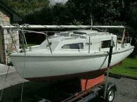 19ft Seawych Trailer Sailer
