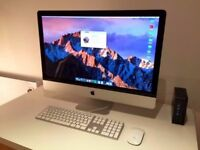 Apple iMac 27' Computer 2.7Ghz Quad Core i5 8GB Ram 1TB Logic Pro X Omnisphere Massive Absynth Waves