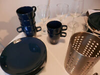 """Pack """"kitchen"""" - new unused set crockery, cutlery + other stuff you need in the kitchen"""