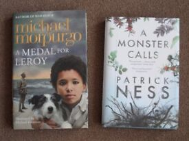 Childrens Book A medal for leroy / A monster calls