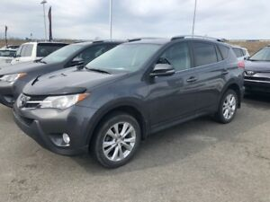 2014 Toyota RAV4 * LIMITED * CUIR * TOIT * GPS * MAGS *