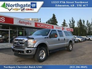 2015 Ford F-250 Crew Cab 4x4, Canopy, Power Seat, Back Up Camera