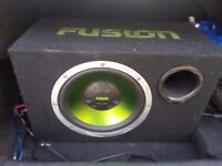 Active subwoofer 12 inch built in amp-Collection or can deliver from London Eastham E6