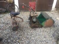 Vintage Webb lawn mower
