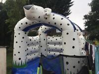 Dog bouncy castle