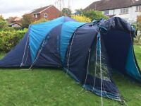 @VERY LARGE VANGO DIABLO FAMILY TENT, PORCH, LIVING AREA, BEDROOMS@@