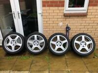 """Ford Focus RS Mk1 Wheels 4x108 18"""""""