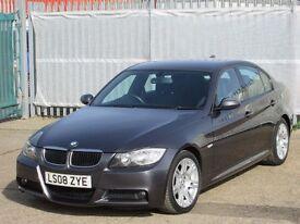 2008 (08 reg), BMW 3 Series 2.0 318d M Sport 4dr