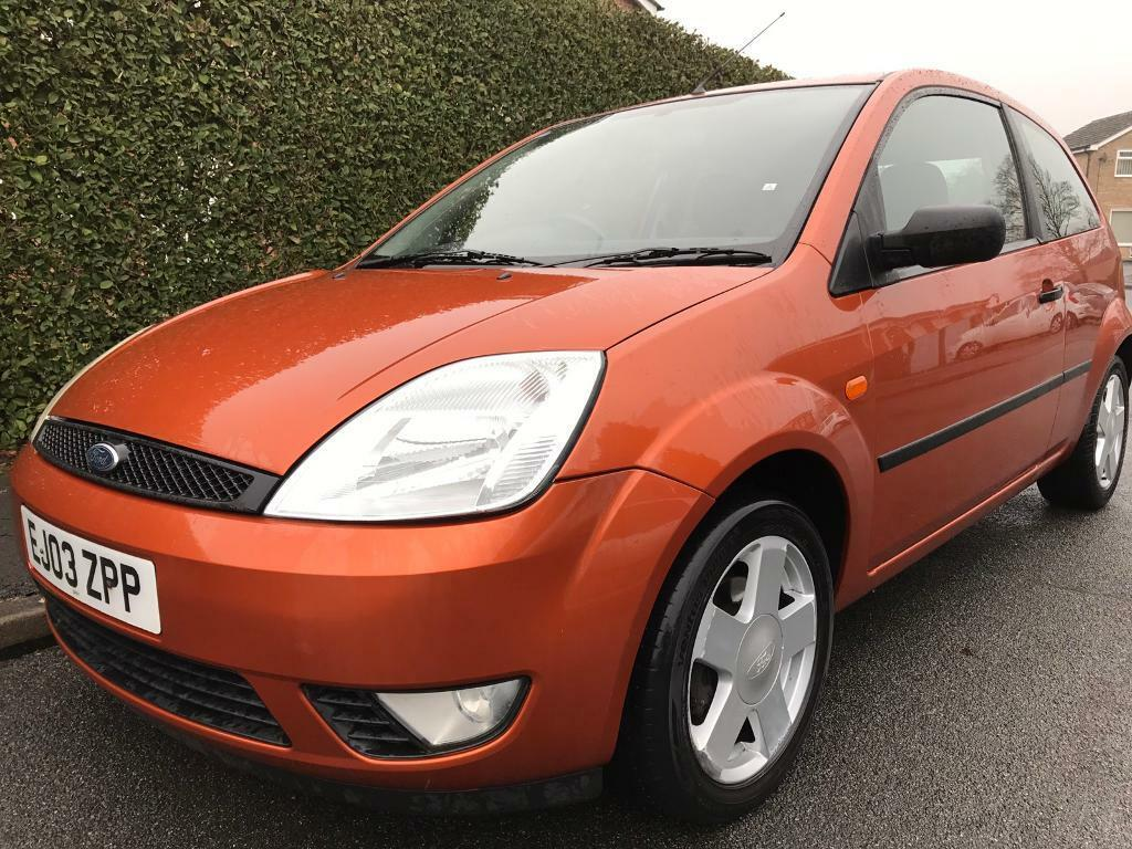 2003 ford fiesta 1 4 zetec ideal first car full service. Black Bedroom Furniture Sets. Home Design Ideas