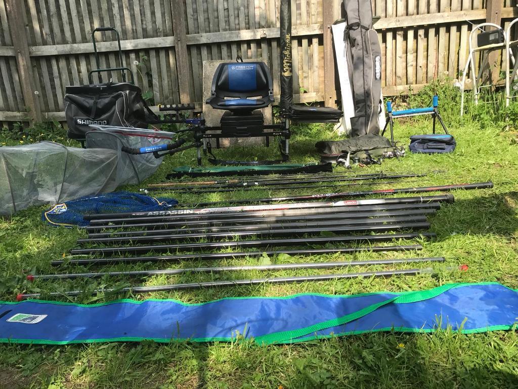 Full match fishing set up