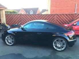 Audi TT 2.0TFSI with RARE WING BACK SEATS