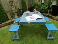 Childs fold up table