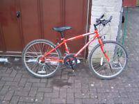 Kids Rapid Reactor Bike,10 speed,good condition, bargain