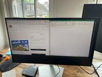 27 inch usbc monitor Dell S2719DC (partial damage)