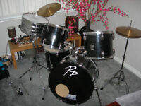DRum Kit - Performance Percussion drum kit Made in the USA Bargain must go bargain at only £85