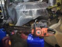 Sachs dolmar 123 chainsaw