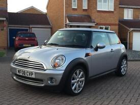 2008 BMW MINI COOPER 1.6 CHILLI PACK ALLOYS LEATHER CRUISE CONTROL NOT AUDI FIESTA VW POLO