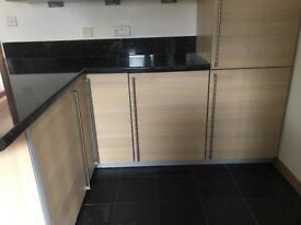 Complete kitchen units and electrical goods