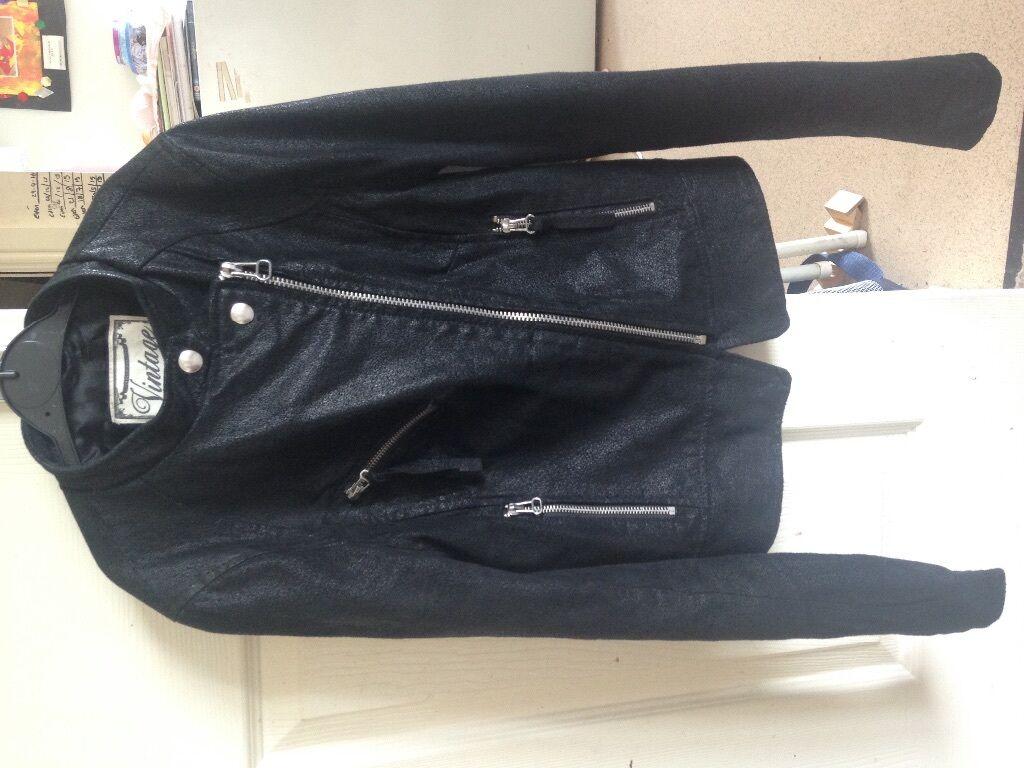 Leather jacket new look - New Look Vintage Leather Jacket