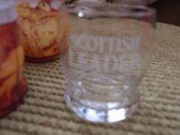 "50 x Brand New Scottish Leader ""Rocking Bottom Shape"" Whisky Glasses"