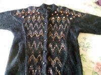 Chunky wool jacket size 12/14