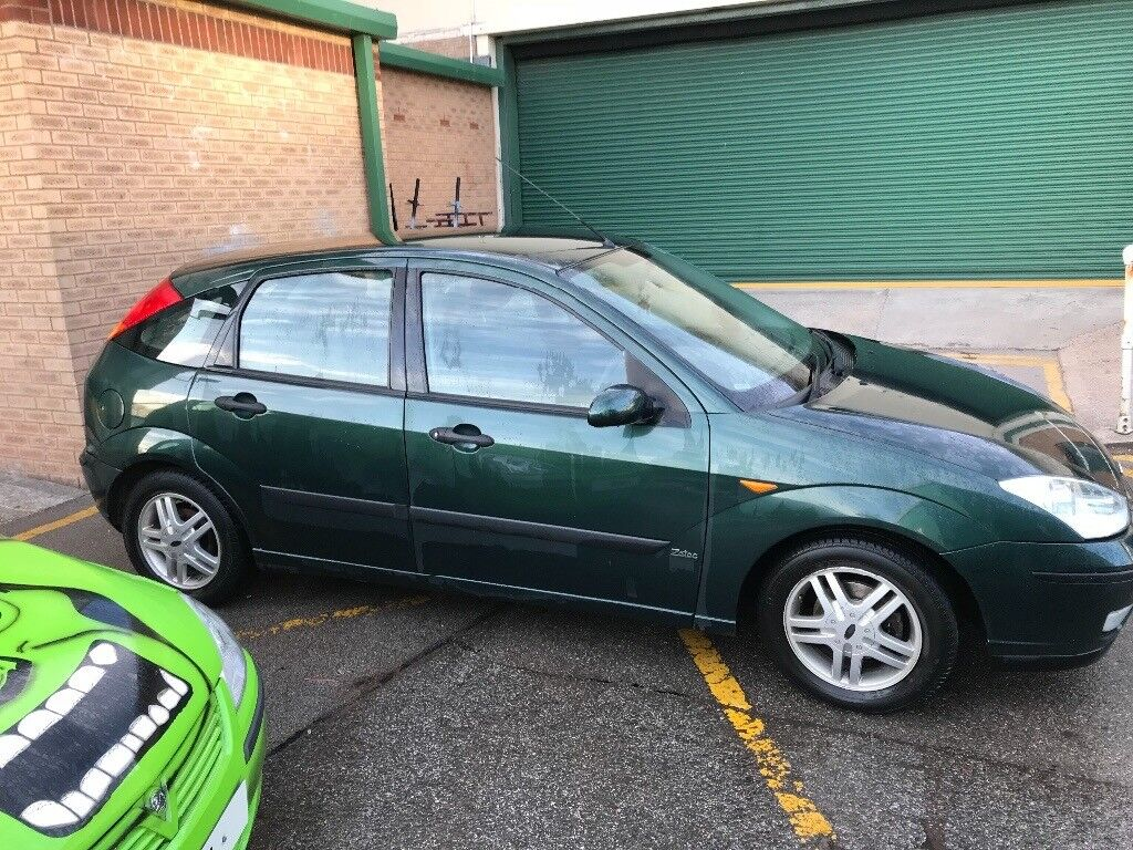 2004 ford focus 1 8 zetec green