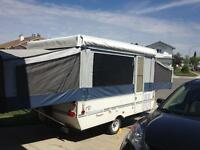 2000 Dutchmen Voyager pop up travel trailer