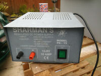 13.8v DC POWER SUPPLY SHARMANS