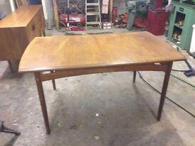 Genuine G plan Danish teak furniture